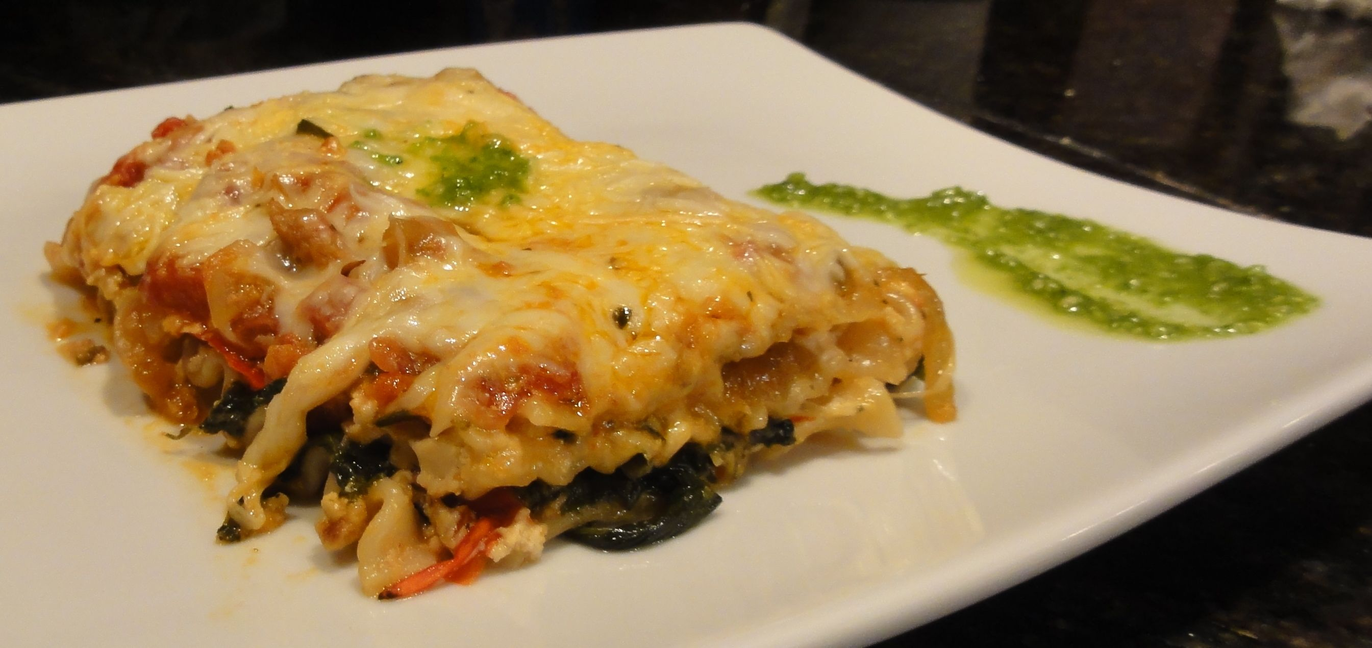Vegetarian lasagna recipe with caramelized onions spinach last night we my mom and i were in the mood for some traditional italian food born and brought up in staten island i can say i know a thing or two forumfinder Choice Image