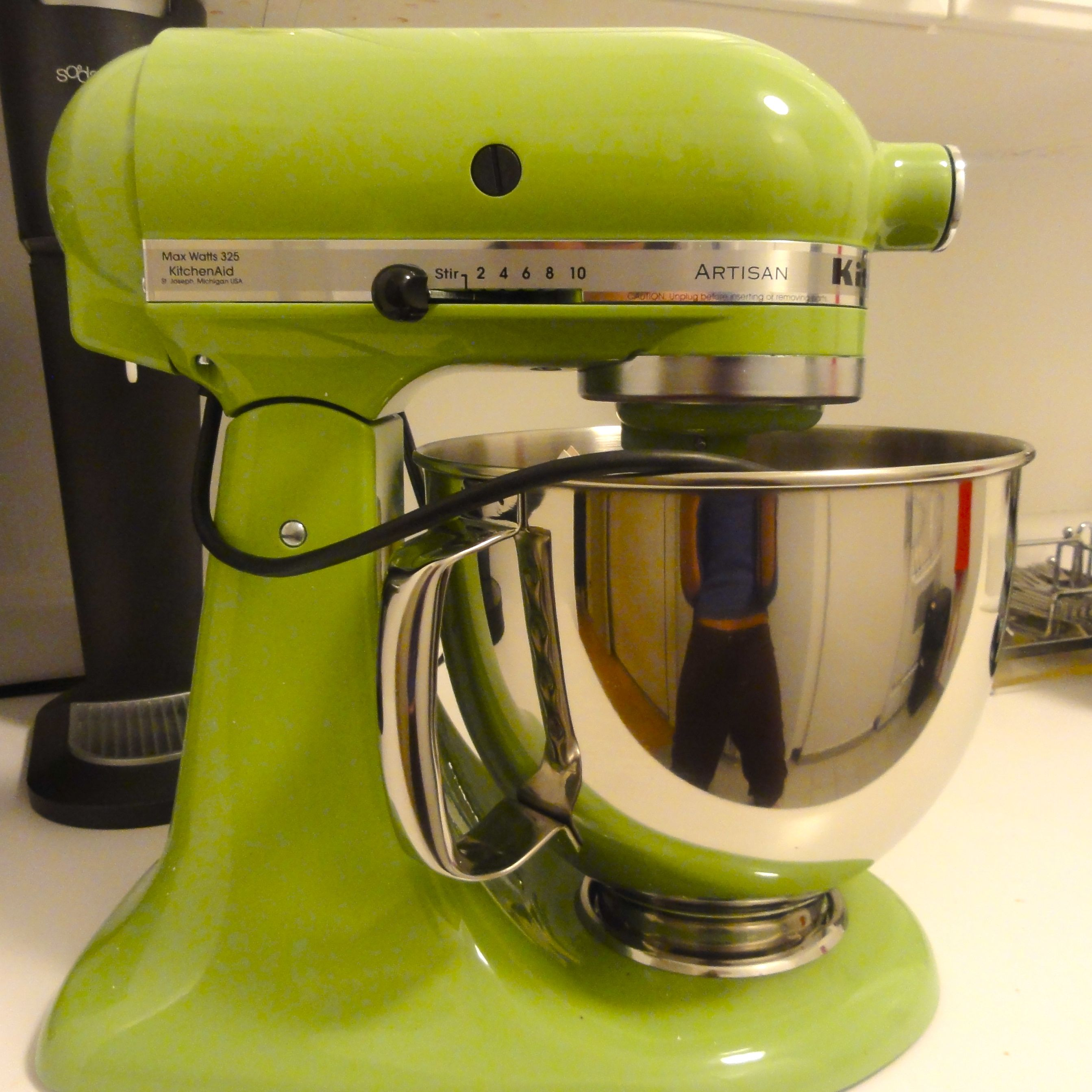 Charmant Kitchenaid Stand Mixer Lime Green Trendyexaminer