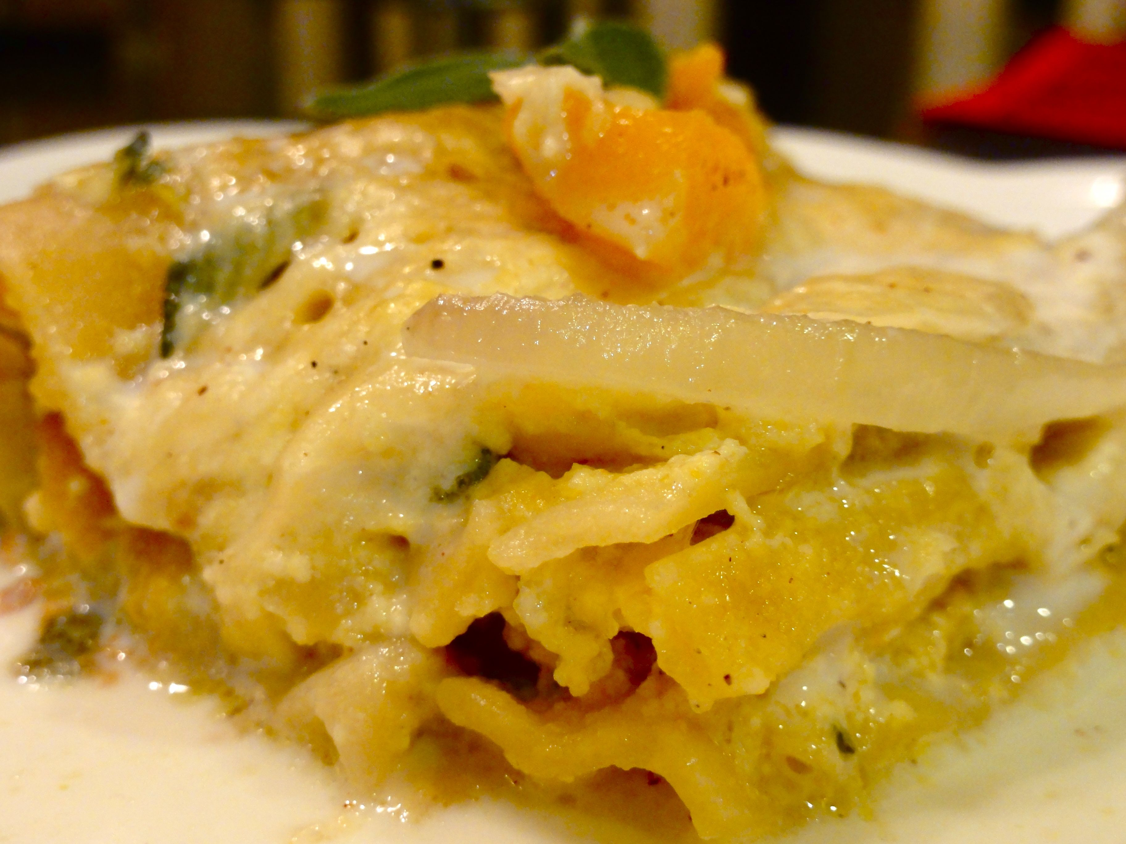 Pumpkin And Cream Cheese Ravioli In Sage And Butter Sauce Recipes ...