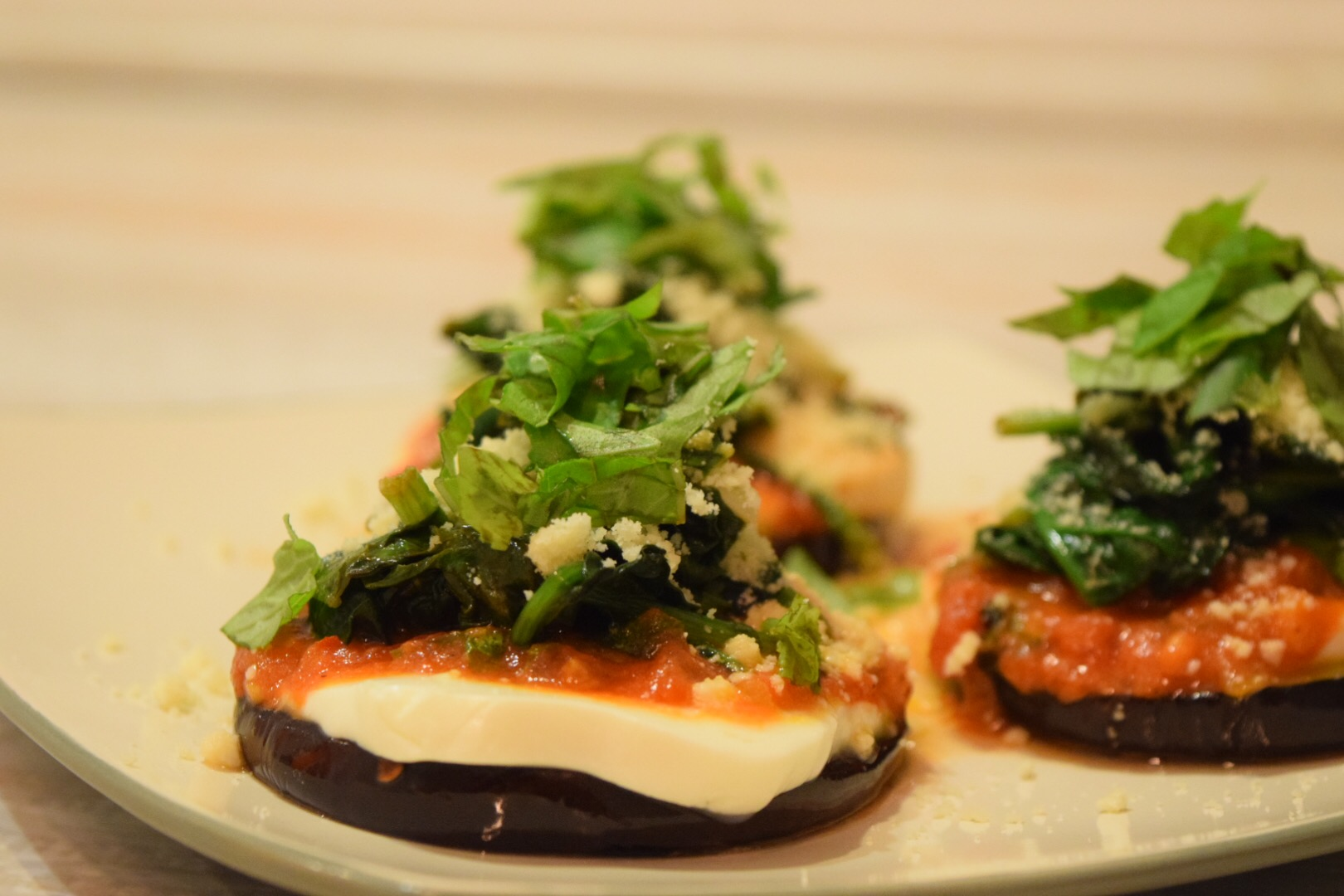 Mini Eggplant Pizzas – Chef Priyanka
