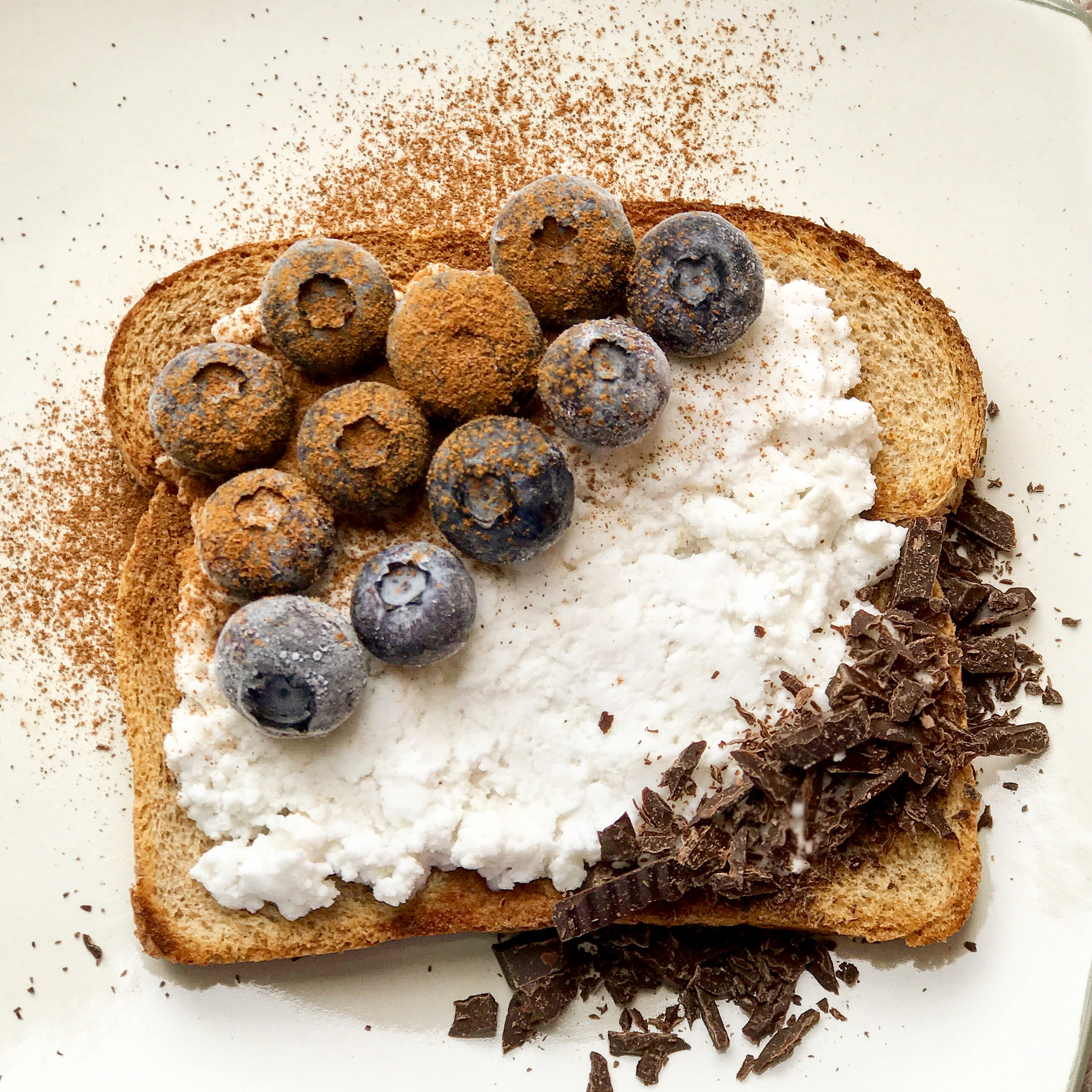 blueberry toast 1