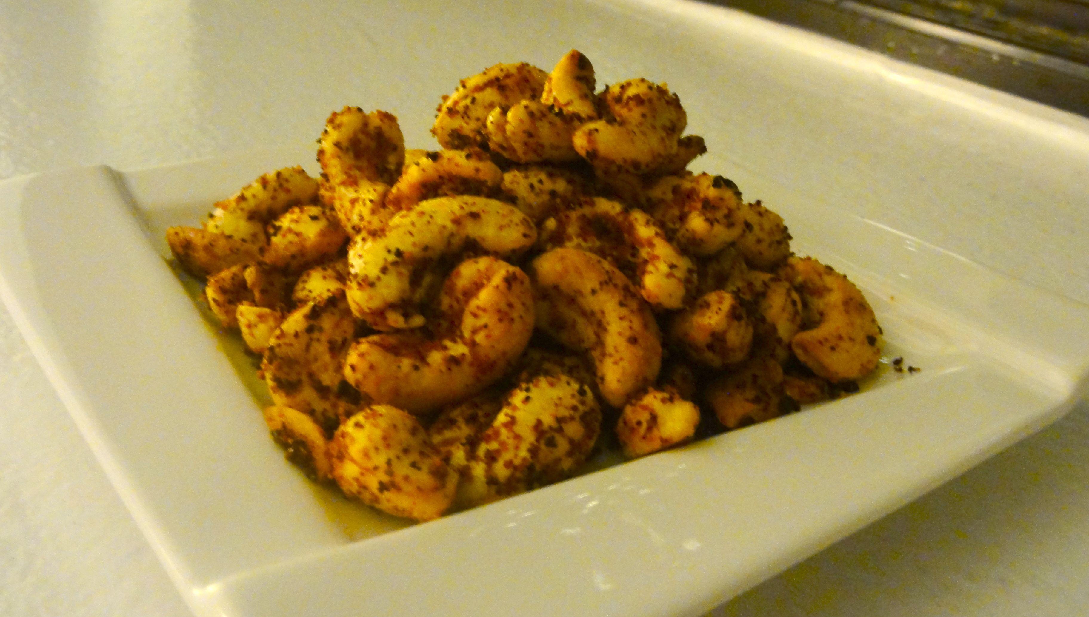 Roasted Chili Garlic Spiced Cashews Chef Priyanka Vegan Celebrity Chef Tv Host Author